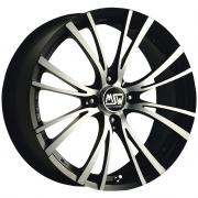20/4 Matt Black + Full Polished 7x15 (4x108 ET42)