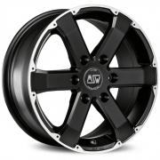 46 Matt Black + Full Polished 7,5x17 (6x139,7 ET20)