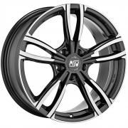 73 Gloss Dark Grey + Full Polished 8x19 (5x112 ET49)