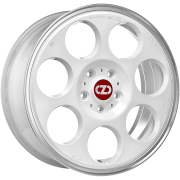 45 Anniversary Race White Diamond Lip 7x17 (4x100 ET42)
