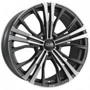 Cortina Matt Dark Graphite + Diamond Cut 9,5x20 (5x112 ET40)