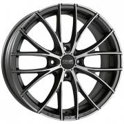 Italia 150/4 Matt Dark Graphite + Diamond Cut 7x17 (4x108 ET42)