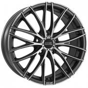 Italia 150/5 Matt Dark Graphite + Diamond Cut 8x18 (5x114,3 ET45)