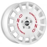 Rally Racing White 8x18 (5x112 ET45)