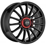 Superturismo Evoluzione Gloss Black + Red Lettering 8,5x20 (5x112 ET30)