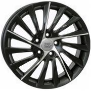 Alfa Romeo Giulietta Dull Black Polished Lip 7,5x17 (5x110 ET41)