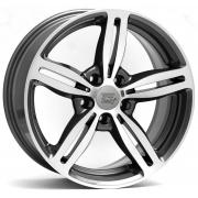 BMW Agropoli Anthracite Polished 8x17 (5x120 ET34)