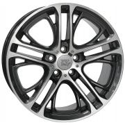 BMW X3 Xenia Diamond Black Polished 10x20 (5x120 ET51)