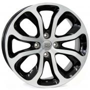 Citroen Nimes Glossy Black Polished 6x16 (4x108 ET26)