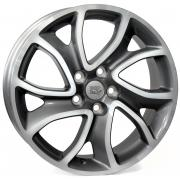 Citroen Yonne Anthracite Polished 7x18 (5x114,3 ET38)