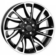 Lancia Taranto Diamond Black Polished 6x15 (4x98 ET30)