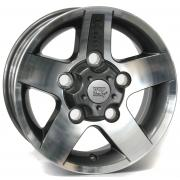Land Rover Mali Anthracite Polished 8x16 (5x165 ET25)