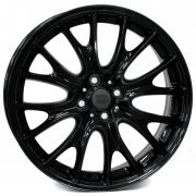 Mini Rivers Glossy Black 7x17 (4x100 ET48)