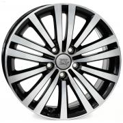 Volkswagen Altair Glossy Black Polished 7,5x17 (5x112 ET47)