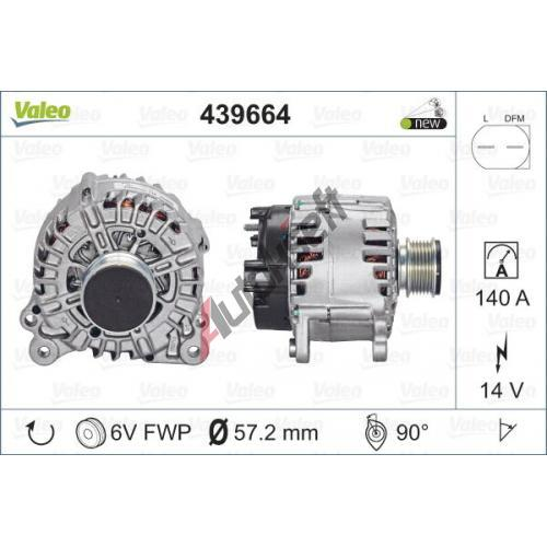 VALEO VA439664 439664-Alternatore